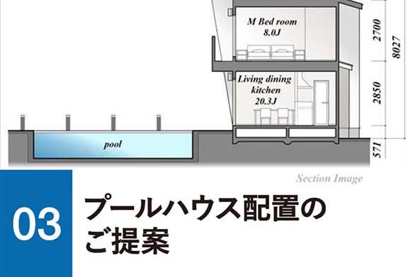 03プールハウス配置のご提案